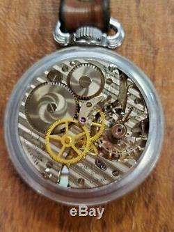 Antique Hamilton 16s 4992B 22 Jewels Navigational WW2 Pocket Watch (PARTS)