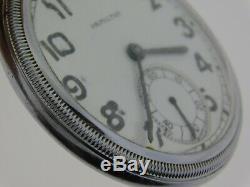 Antique Hamilton 1940 Military Style 2k12688 Model 5-17 Jewel 2974b Pocket Watch