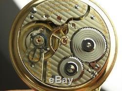 Antique Hamilton 992 16s Rail Road pocket watch. 1926. Model 4 Hamilton case