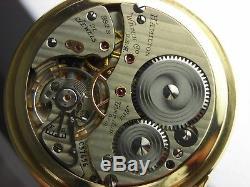 Antique Hamilton 992B 16s Rail Road pocket watch. Gold filled. 21 jewels. 1941