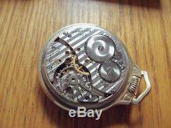 Antique Hamilton 992B Railroad Approved Pocket Watch