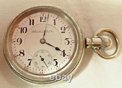 Antique Hamilton Pocket Watch 18S 21J Runs Serviced 941 Railroad Grade