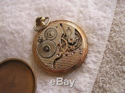 Antique Hamilton Pocket Watch 21 Jewels 992