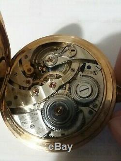 Antique Hamilton Pocket Watch, 23 Jewel, 12S, Grade 920 Serial # 1899603