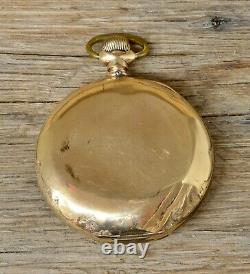 Antique Hamilton Pocket Watch, Grade 925, 17 Jewel, 18s, Gold Filled Hunter Case