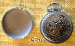 Antique Hamilton pocket watch 4992B 22J AN 5740-1