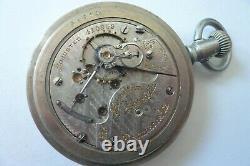 Antique Pocket Watch Hamilton 18s 21j Grade 940 Rail Road Standard 1905