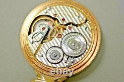 Antique RUNS 16s Hamilton 992 21J Railroad Grade R. R. Pocket Watch 10K G. F