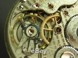Antique Rare 16s Hamilton 990 16s 21 jewels pocket watch. Serviced! Made 1903