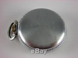 Antique all original 16s Hamilton 4992B WW2 Navigational pocket watch made 1942