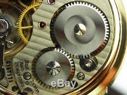 Antique all original Hamilton 992B 16s Rail Road pocket watch. 1946. 21 jewels