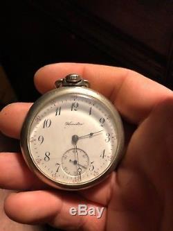Antique hamilton pocket watch Works