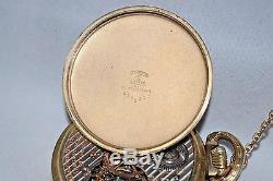 Antique original 16s Hamilton 992 Rail Road pocket watch 1923 21j Nice A48-416