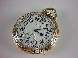 Antique original 16s Hamilton 992 Rail Road pocket watch 1929. 21 j. Nice case