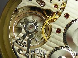 Antique original 16s Hamilton 992B Rail Road pocket watch 1946. 21 j. Very nice