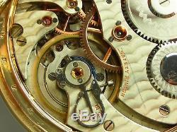 Antique original 16s rare Hamilton Hayden Wheeler Maiden Lane pocket watch 1897