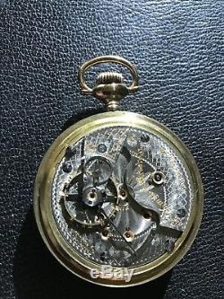 Antique original 18s Hamilton 944 Rail Road grade pocket watch Beautiful watch