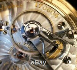 BALL HAMILTON 21J 18s, 5 Pos. OF LS, Official RR Std. Pocket Watch, GF. Ca. 1902