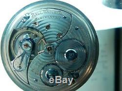 BALL Hamilton Pocket Watch Official Railroad Standard 21jewels 16 size