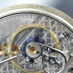BIG 1910 Hamilton 21 Ruby Jewel RAILROAD Grade 940 Pocket Watch Heavy 18s
