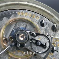 BIG 1914 Hamilton 21 Jewel RAILROAD Grade 940 Pocket Watch 18s Montgomery Dial