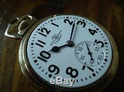 Ball 16s Pocket Watch / Hamilton 23 Jewels, Elinver, Ball Case, Serviced