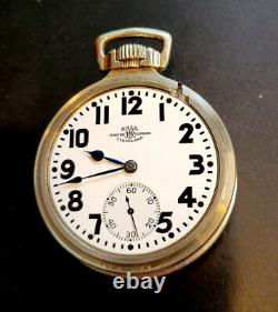 Ball 999P Railroad Watch 16 size 21j 14K WGF (based on Hamilton 992) SERVICED