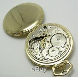 Ball-Hamilton 16 size Pocket Watch Grade 999B all original
