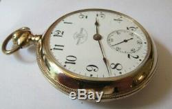Ball Hamilton 18 Size 21 Jewel 999b Official Railroad Standard Pocket Watch