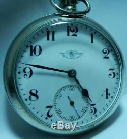 Ball-Hamilton 999 Official Raiload Standard Pocket Watch 18s 17j