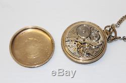 Ball Hamilton 999B Official Railroad Standard Pocket Watch 21J 1947 16s 10k GF