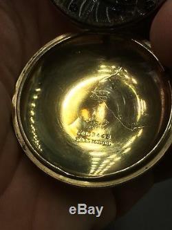 Ball-Hamilton Railroad Pocket Watch With Rare Numerical Dial
