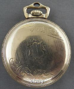 Ball by Hamilton Official Railroad Standard Pocket Watch, 999, 21 Jewels