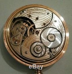 Ball official standard 16S. Hamilton 21 jewel (1925) 14K. Gold filled ball model