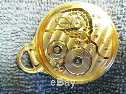 Beautiful 16s 1938 21j 992e (elinvar) Hamilton Bar over Crown pocket watch