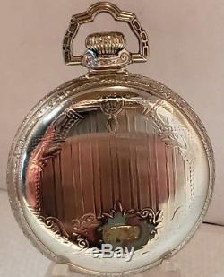 Beautiful 16s Hamilton 21j Ball 999 Pocket Watch
