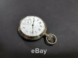 Beautiful 16s Hamilton Grade 954 RR Factory Display Cased Pocket Watch