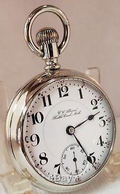 Beautiful 18s Hamilton 21j Railroad Pocket Watch
