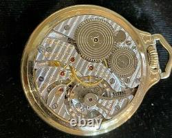 Beautiful 1906 Hamilton 950-B 23 Jewels R. R. With Monty Dial Pocket Watch