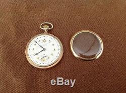 Beautiful 1920 Hamilton 992 21 Jewels Masonic Pocket Watch Works