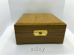 Beautiful HAMILTON Pocket Watch BOX Solid Wood NOS