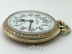 Beautiful Hamilton 992B Railway Special Pocket Watch 21j 16s SERVICED