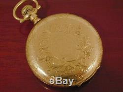 C. 1903 16s Hamilton Hayden W Wheeler Maiden Lane 21J Hunter Case Pocket Watch