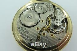 C1949 Hamilton Railway Special 992b 21j 10k Gold Filled Pocket Watch Working
