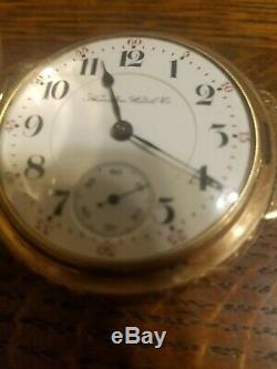 Circa 1901 Hamilton 941 21 Jewel Size 18 Hinge Box