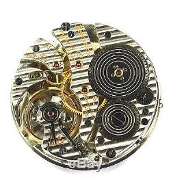 Dead Accurate Mint Cond Hamilton Gr 950b 16s 23j 6p Rr Mvmt Orig Blindman Monty