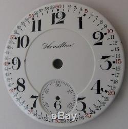 Dial Hamilton 18s in fine condition. Monty Montgomery