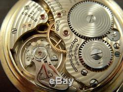 EARLY 1944 999B BALL HAMILTON Pocket Watch 16s 21j S/N 1B750 Ball Case Running