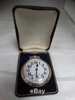 EXcellent 1947 Hamilton 16s 992B 21j OF Ls Rail Road Grade 10kgf Pocket Watch