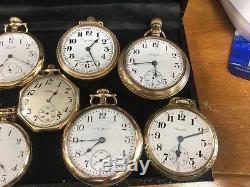 Elgin, Hamilton, Howard, South Bend, Illinois, Dueber, Pocket watches
